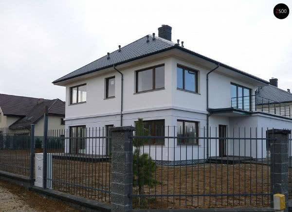 Готовый дом из блоков 2NF