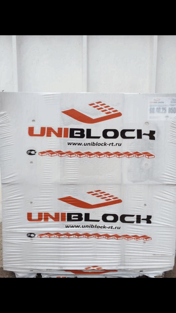 купить газобетон Uniblock в Набережных Челнах
