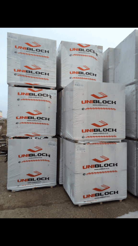 купить газобетон Uniblock в Нефтекамске